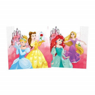 x20 Serviettes Princesses Disney compost