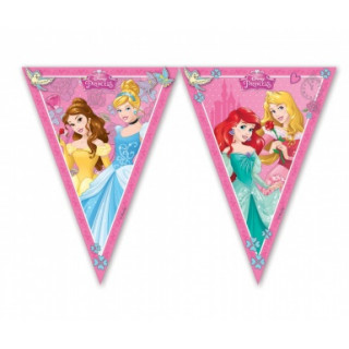 Guirlande fanion Princesses Disney
