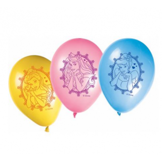 x8 Ballons Princesses Disney