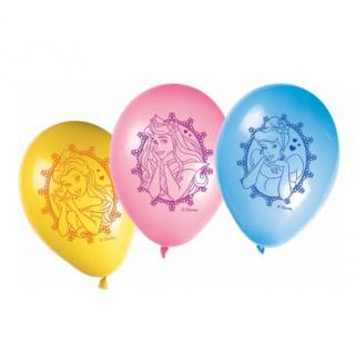 x8 Ballons Princesses Disney