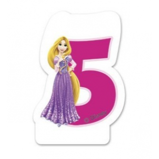 Bougie 5 ans Princesse Disney
