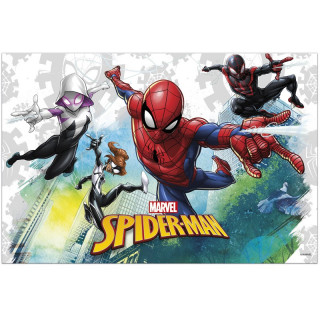 Nappe en plastique Spiderman 120x180cm