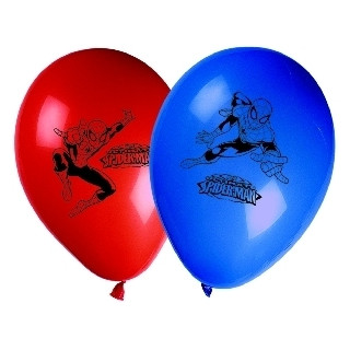 x8 Ballons Spiderman