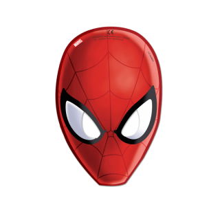 x6 Masques Spiderman