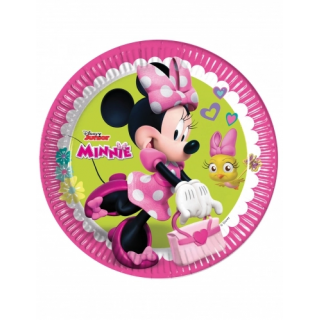 x8 Assiettes Minnie
