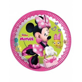 x8 Assiettes Minnie