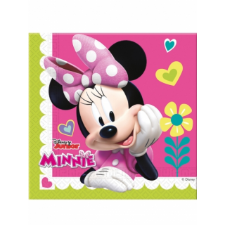 x20 Serviettes Minnie