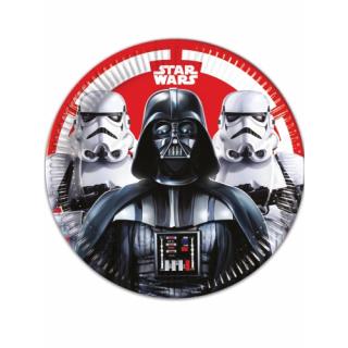 x8 Assiettes Star Wars 23cm