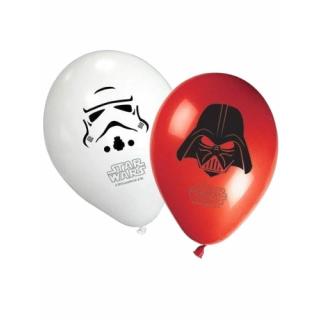 x8 Ballons Star Wars
