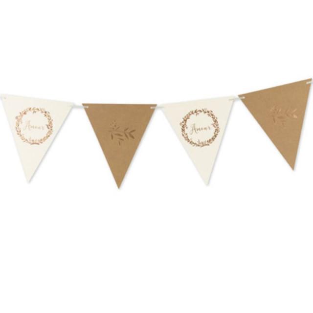 décoration mariage champetre guirlande laurier