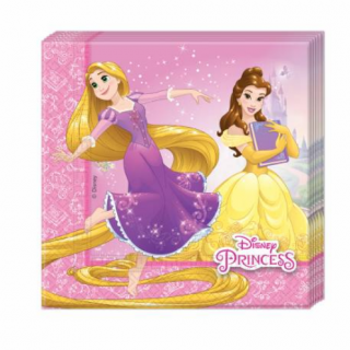 x20 Serviettes Disney Princesse