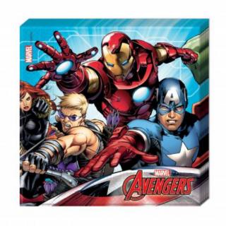 x20 Serviettes Avengers