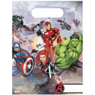 x6 Sac cadeaux Avengers
