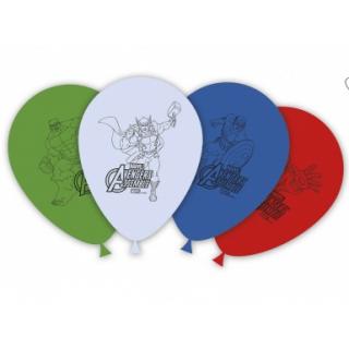 x8 Ballons Avengers