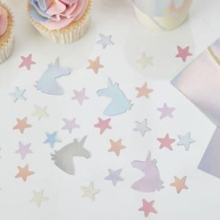 confettis-table-décoration-licorne