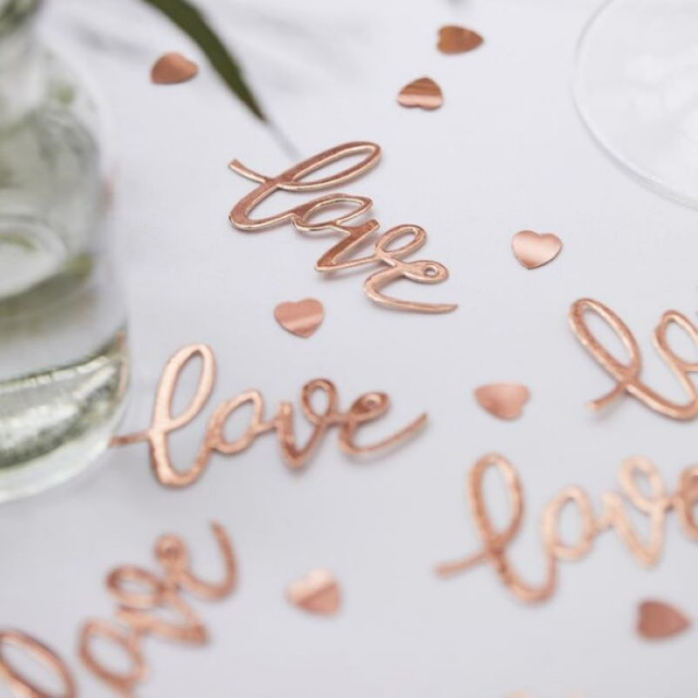 confettis-table-rose-gold-amour