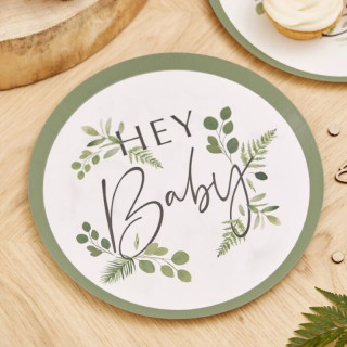 assiette-jetable-recyclable-baby-shower