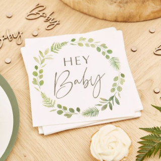 serviettes-jetable-végétales-gender-reveal