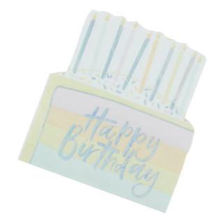 serviettes-jetables-anniversaire-gateau