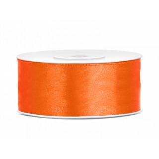 Ruban en satin Orange 25m x 25mm