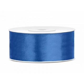 ruban en satin bleu roi 25m x 25mm