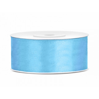 ruban bleu ciel 25m x 25mm