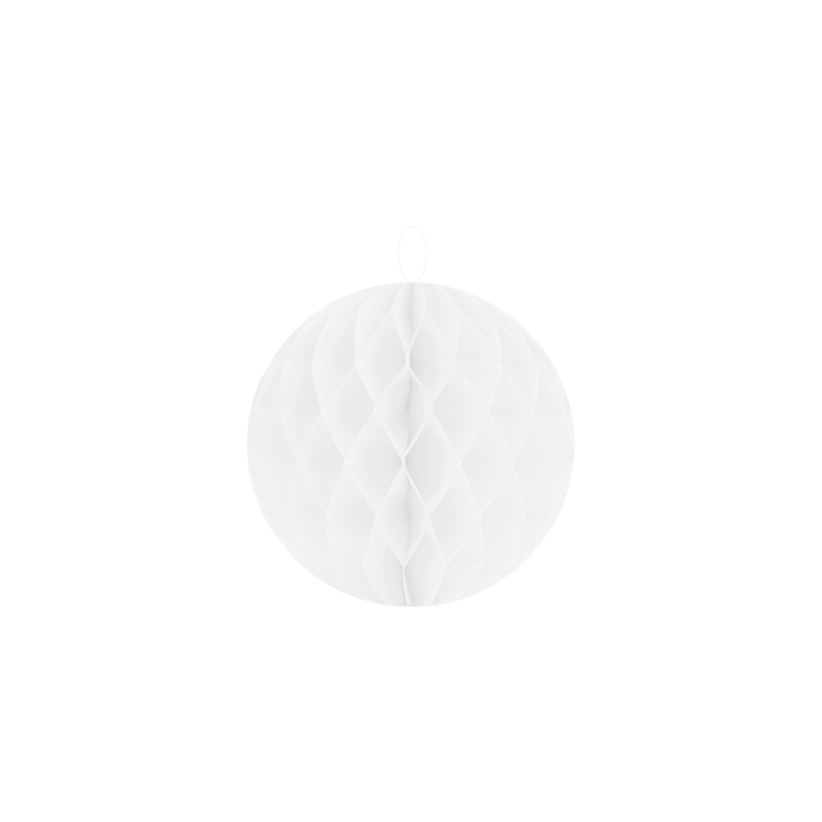 2 Boules Alvéolées 20 cm - Blanc