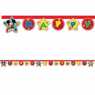 guirlande anniversaire mickey