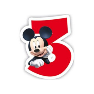 bougie 3 ans mickey