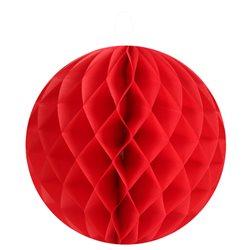 2 Boules Alvéolées 20cm - Rouge
