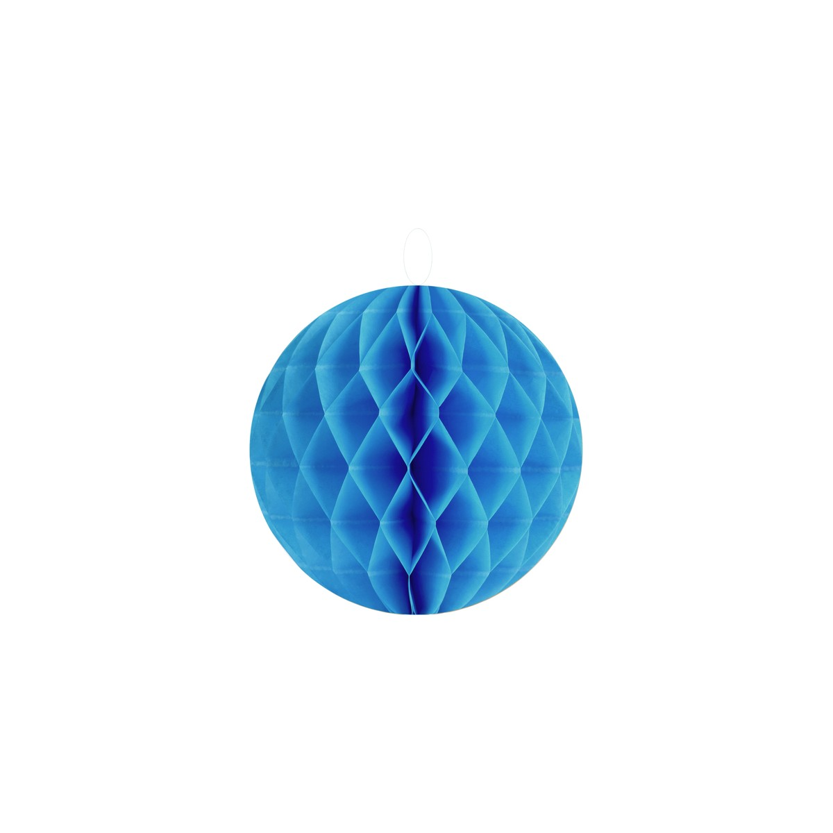 2 Boules Alvéolées 20 cm - Bleu