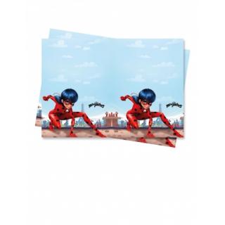 nappe en plastique miraculous ladybug 120x180cm