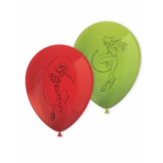 ballons miraculous ladybug x8