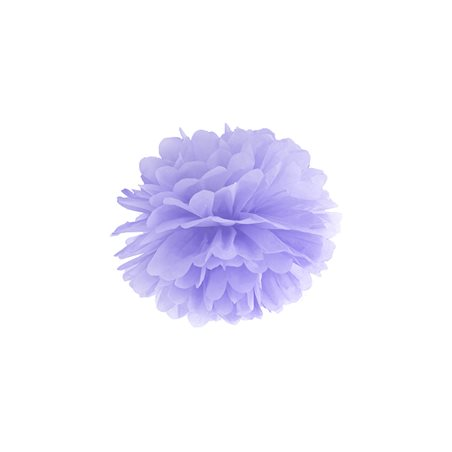 Pompon Papier 25 cm - Lila