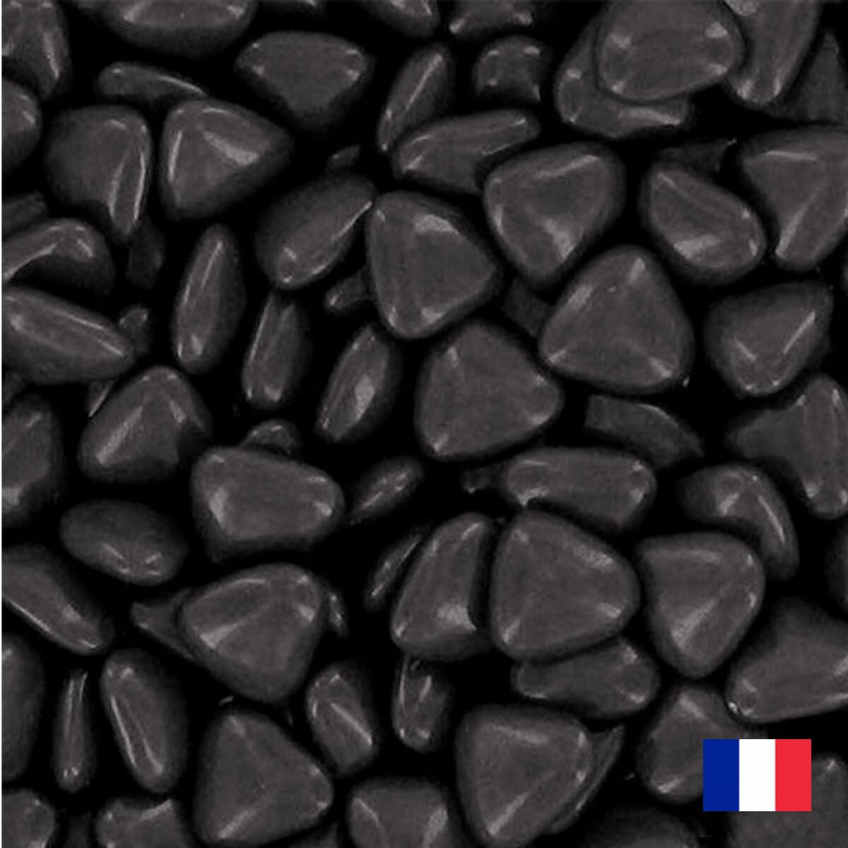 1kg Dragées coeur chocolat Noir