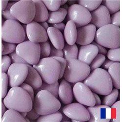 1kg dragées coeur chocolat Parme