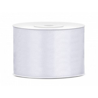 Ruban Satin Blanc 5cm - 25m