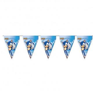 Guirlande Anniversaire Sonic
