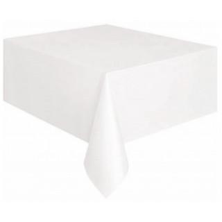 Nappe Plastique Blanche 120x180 cm