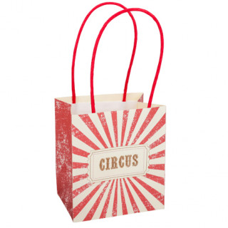 sac cadeau circus party x4