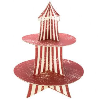 présentoir à gâteau cirque - 37cm