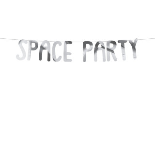 guirlande anniversaire Space Party
