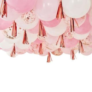 kit ballon rose gold
