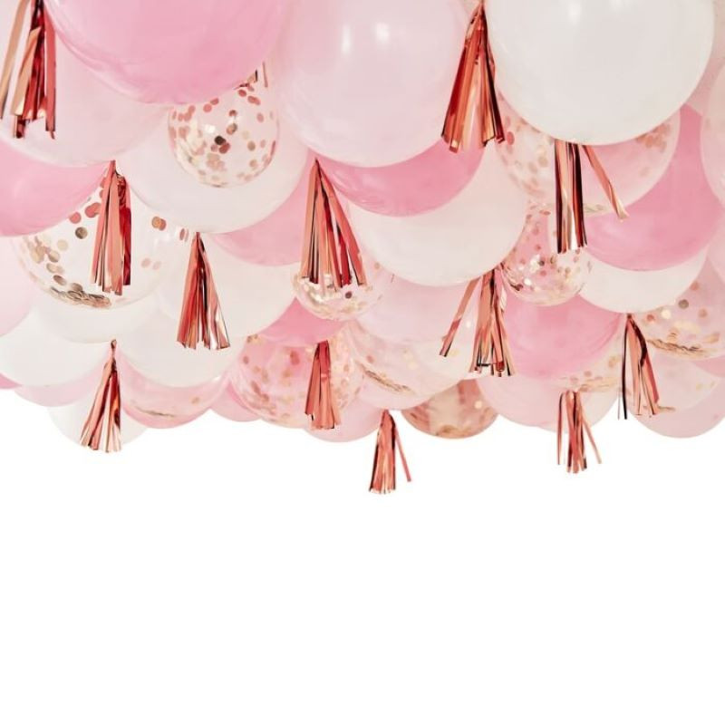 kit ballon rose gold