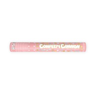 canon à confettis or et argent 40cm