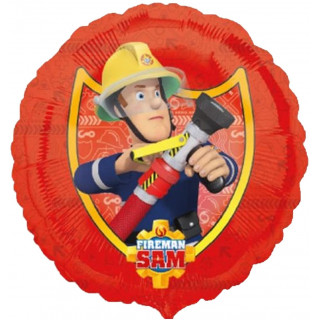 Ballon Aluminium Sam Le Pompier
