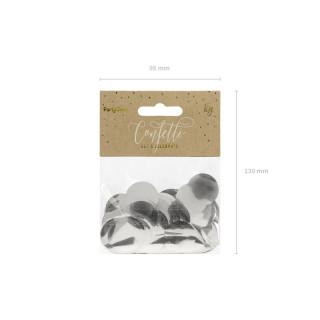 confettis de table argentés x15g