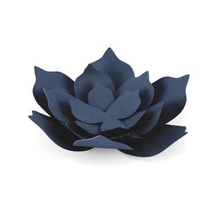 Décorations fleur de lotus en papier x 3