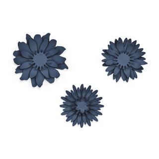 Décorations table mariage fleur de lotus en papier x 3
