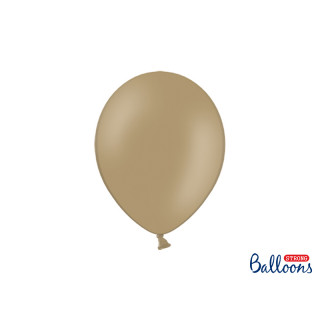Ballons de baudruche capuccino pastel 30 cm x 50